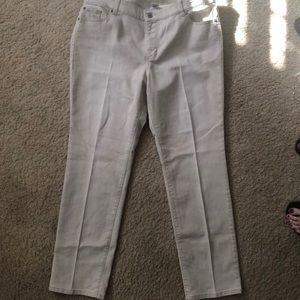 Light Beige Chicos 3 Jeans